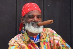 Portret van een Cubaan, Havanna, Cuba