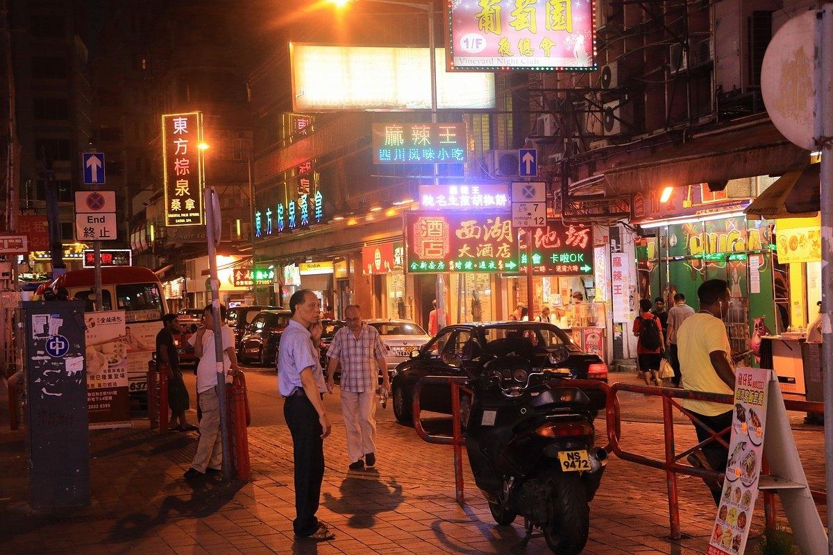 Temple Street, Hong Kong