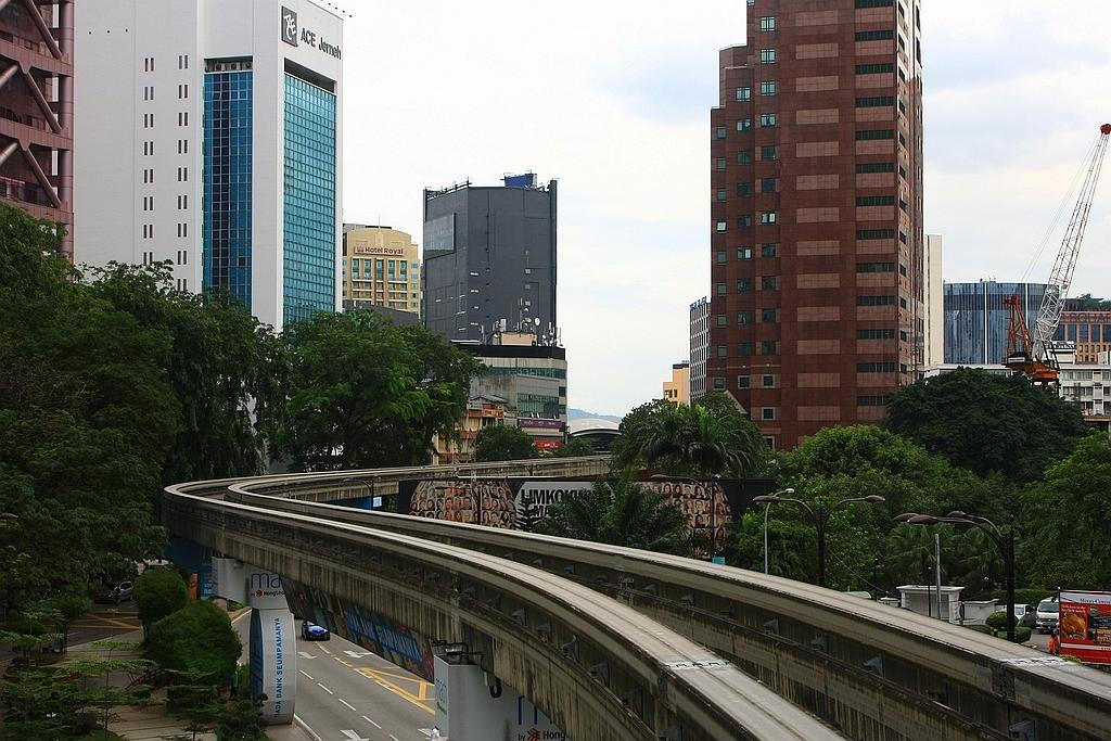 KL Monorail, Kuala Lumpur, Maleisië