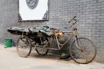Een fiets in een hutong, Beijing